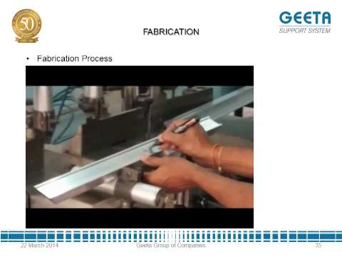 Geeta Support System - Fabrication Compliance Report 1 HD