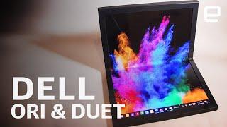 Dell concept devices Ori & Duet at CES 2020