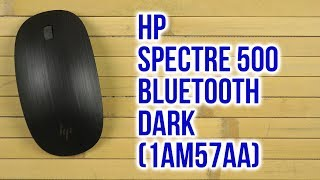 Розпакування HP Spectre 500 Bluetooth Dark 1AM57AA