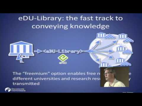 eDU-library, a way to knowledge sharing: Jörg Zimmer at TEDxUdG