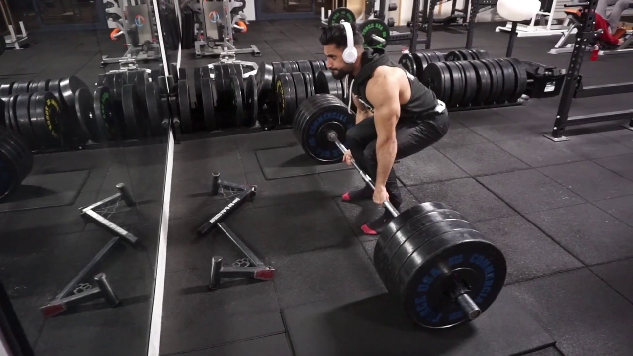 Deadlift Proper Form Heavy Deadlift Youtube