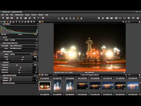 Photoshop CS4 - Phan 1 - Bai 14 -Capture One xu ly RAW tot nhat