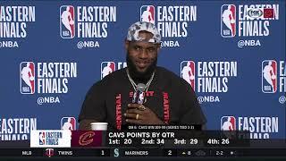 LeBron James on career clutchness, getting older, Game 7 | CAVS-CELTICS POSTGAME | NBA PLAYOFFS