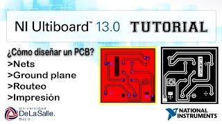 Diseño de PCB en NI Circuit Design Suite 13 | Español