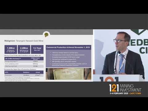 Presentation: Teranga Gold - 121 Mining Investment Cape Town 2020