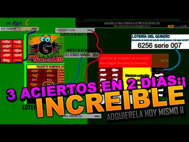 COMO GANAR CHANCE EN COLOMBIA - INCREÍBLE MÉTODO RAPIDO