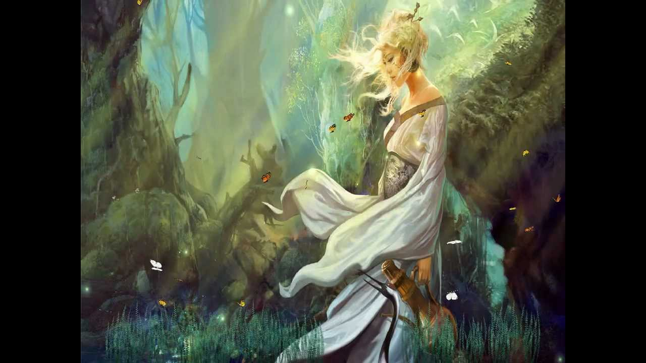 Fantasy Girls Animated Wallpaper Http Www Desktopanimated Com