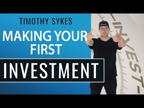 Making Your First Investment