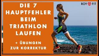 Die 7 Hauptfehler beim Triathlon Laufen + Übungen zur Korrektur!