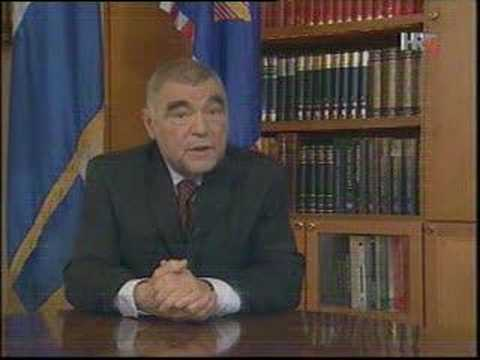 CROATIAN PRESIDENT APOLOGIZES FOR FASCIST SPEECH