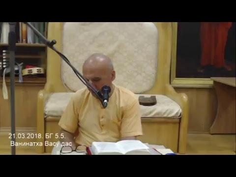Бхагавад Гита 5.5 - Ванинатха Васу прабху