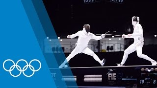 Fencing in Rio - Behind the scenes at an Olympic test event