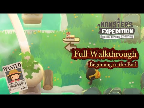 Monster S Expedition Full Walkthrough From Beginning To The Ending Apple Arcade Youtube