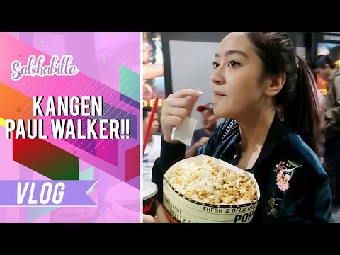 SALSHABILLA #VLOG - KANGEN PAUL WALKER!! :( [Review film Fast & Furious 8]