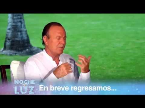 Julio Iglesias y Luz Garcia Entrevista 1/4 en Noche De Luz