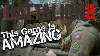 THIS GAME IS AWESOME! (Battalion 1944 Gameplay)