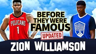 Zion Williamson | Before They Were Famous | 2019 NBA Draft 1st Pick Overall - UPDATE