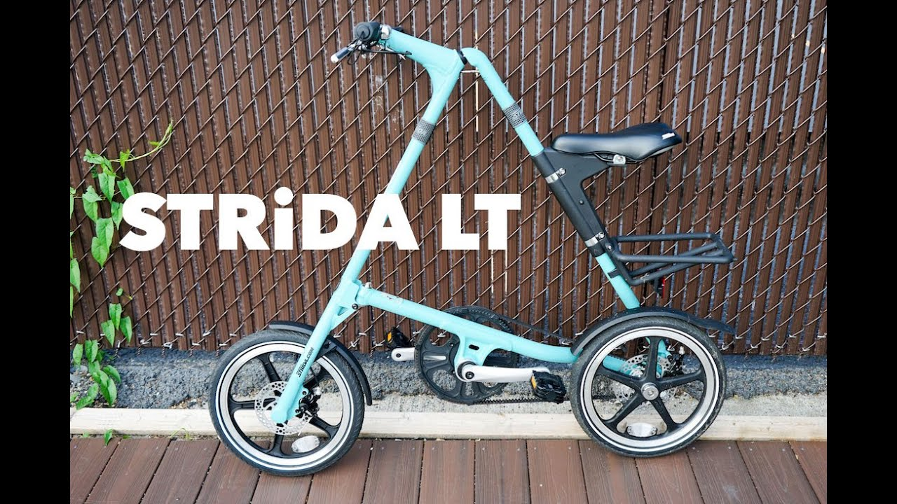 Strida folding bike: overview, features and reviews 56