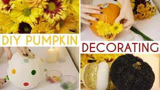 DIY Pumpkin Decorating Ideas Thumbnail