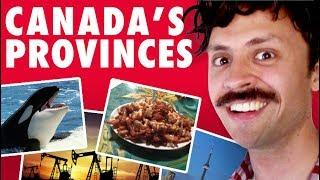 Canada's 10 Provinces