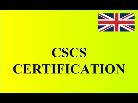 Cscs Certification How To Become Laborer