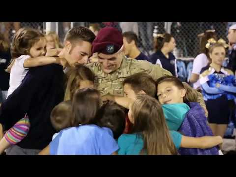 Marine dad surprises daughters at their El Paso school after 18 months apart