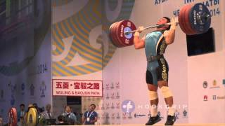 Vladimir Sedov (-94) - 219kg Clean & Jerk