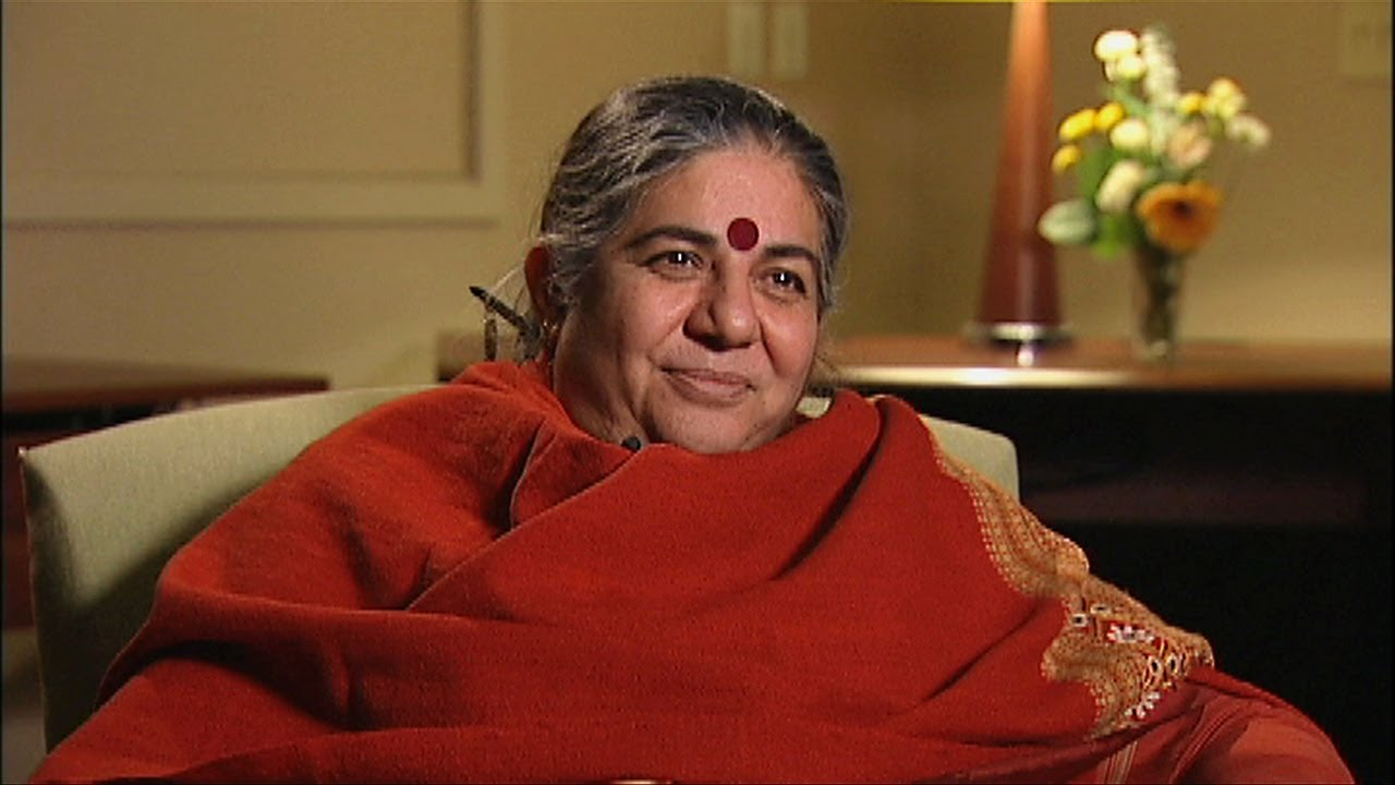 Vandana Shiva On the Real Cause of World Hunger