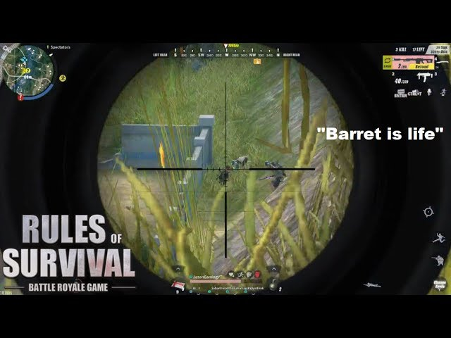 """""""PENTAKILL"""" Another BARRET Wipeout (ROS BISAYA)"""