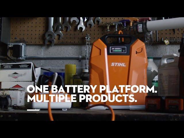STIHL AP Series: Battery Power. Made By STIHL.