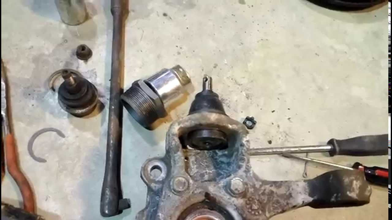 Dodge Avenger Lower Ball Joint Replacement Youtube
