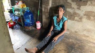 Bà lão mù chỉ xin 3 tấm tôn lợp mái nhà mưa dột, sợ không có gạo ăn