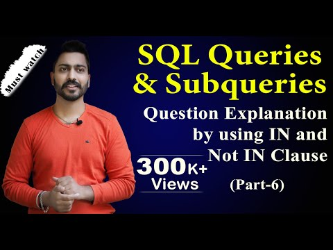 Sql types of subqueries in oracle