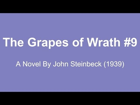The Grapes of Wrath Audio Books - A Novel By John Steinbeck (1939) #9