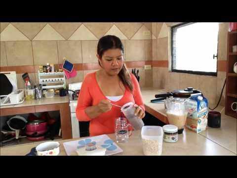 Waffles de avena - Rutina Saludable