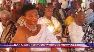 Nana Akufo-Addo - Arrival in Akatsi