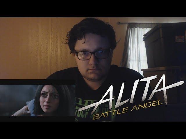 Alita: Battle Angel | Official Trailer REACTION