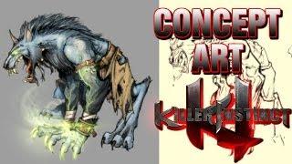 Concept Art: Jago and Sabrewulf - Killer Instinct