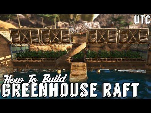Ark Building Tutorial :: Raft Greenhouse Bridge Design :: Ark Scorched Earth Build Guide :: UTC