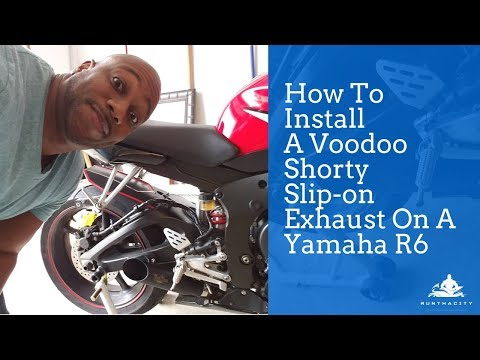 How To Install A Voodoo Slip-On Exhaust | RunThaCity