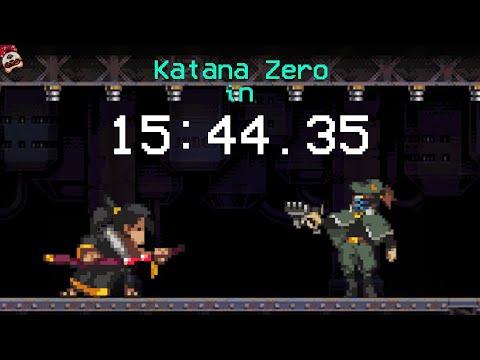 Katana ZERO in 15:44.35 |