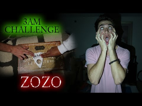 Thumbnail: OUIJA BOARD 3AM CHALLENGE CONTACTING ZOZO // FIGHTING BACK AT ZOZO!!