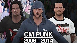 WWE 2K17: The Evolution of CM Punk (2006 - 2014)