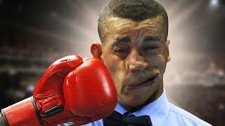 Arbitros de boxeo golpeados durante una pelea - El Tope 5