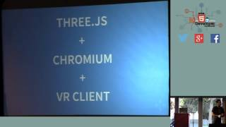 HTML5DevConf: Gavan Wihite, AltspaceVR: Using VR and Three.js to build the Holographic Web