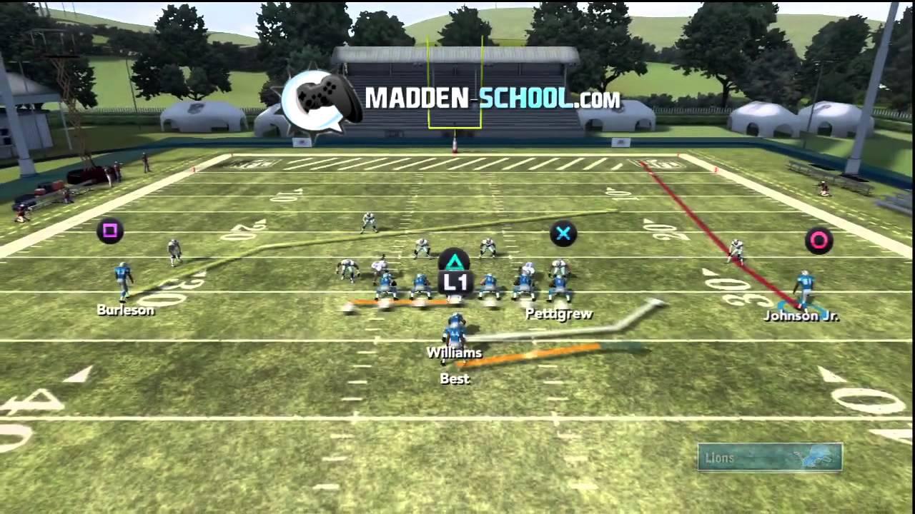 Madden 12 HB Pass
