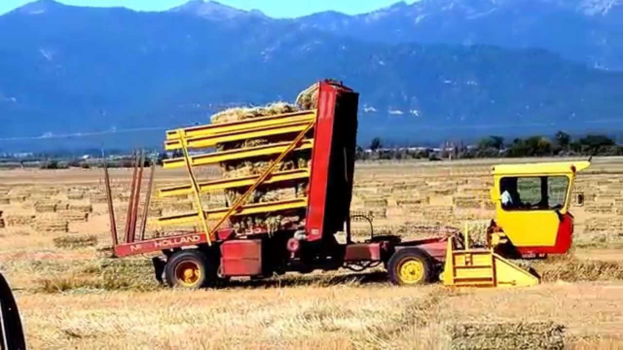 Self-Propelled Hay Bale Wagon