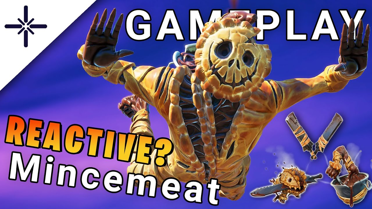 """LEAKED """"Mincemeat"""" Fortnite Skin Gameplay (Is it Reactive? with """"Mash"""" Glider, """"Stir-Baby"""" Back...)"""