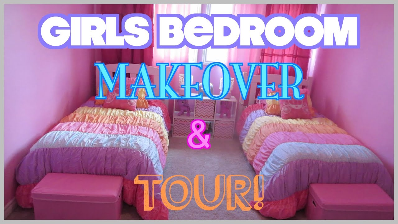 Before amp after tween boy bedroom makeover reveal - Girls Bedroom Makeover Tour On A Budget Before After Modernmom4life Daily Vlog Youtube