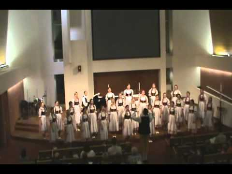 "CZECH REPUBLIC GIRL'S CHOIR ""JITRO"" 3/5/12 (COMPLETE)"